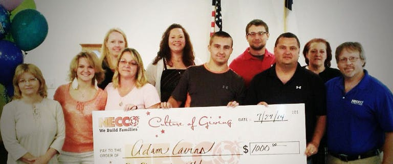 Tri-State Area Student Receives Necco Scholarship