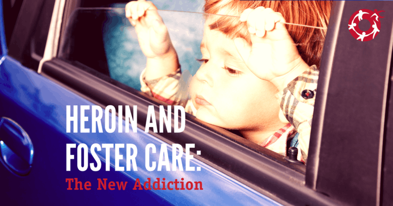The Heroin crisis is pushing a crisis on the foster care system.